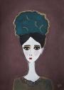 Unframed Eden Art Print by Rebecca Sophie Leigh