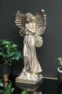 Gold Finish Angel Ornament