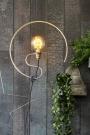 Hanging Circular Steel Frame Light Support