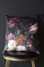 Floral Bouquet Velvet Cushion