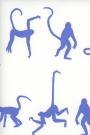 Mischief Wallpaper By Andrew Martin - Denim