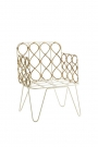 image of the Bamboo Link Armchair on white background