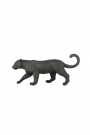 Image of the Black Stalking Leopard Ornament on a white background