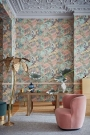 Cole & Son Icons Collection - Miami Wallpaper - 2 Colours Available