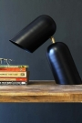 Como Short Circuit Style Desk Lamp - Black