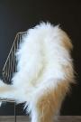 Genuine Icelandic Long Wool Sheepskin - Natural White