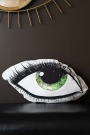 Green Eye Silk Cushion
