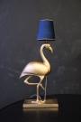 Metal Gold Flamingo Table Lamp