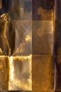 Close-up of the Shibui wallpaper in copper