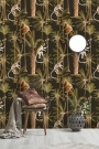 Mind The Gap The Rediscovered Paradise - Barbados Wallpaper - Anthracite