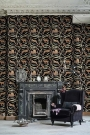 Mind The Gap The World Of Antiquity - Fresce Wallpaper - Anthracite