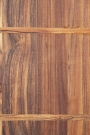Close-up image of the board on the Natural Acacia Round Chopping Board