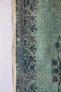Natural Jute Printed Rug - Emerald Green