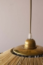 Rafia Fringe Ceiling Light - 2 Sizes Available