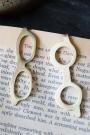 Set Of 2 Glasses Bookmarks