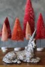 Silver Sparkle Unicorn Ornament
