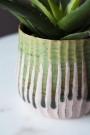 Close-up image of the Botanical Flower Pot