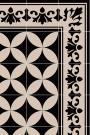 Beija Vinyl Floor Runner - Sofi Antique