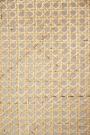 Sungkai Woven Cane Wooden Room Divider/Screen - Black