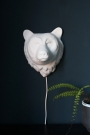 Porcelain Wall Light - Bear