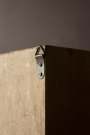 Close-up of the fixing on the back of the Traditional Pigeon Hole Wooden Storage Wall Unit