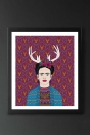 Unframed Frida Fine Art Print