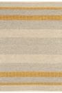 Fields Wool Rug - Mustard