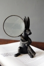 Wonderland Rabbit Magnifying Glass