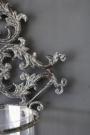 Metal Filigran Candle Wall Sconce