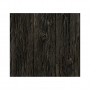 Close up of the charred wood wallpaper