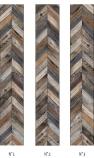 Koziel Antique Wood Chevron Wallpaper