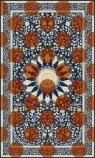 cutout image of Autumn Morning Rug 250cm X 150cm on white background