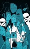 cutout image of Unframed Star Wars Fine Art Print