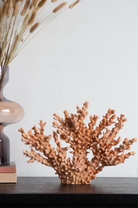 Lifestyle image of the Faux Coral Ornament