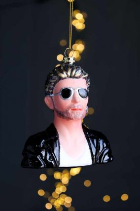 Image of the George Michael Inspired Christmas Tree Decoration