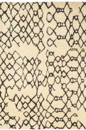 Amira 007 Moroccan Inspired 100% Wool Rug - 240cm x 340cm