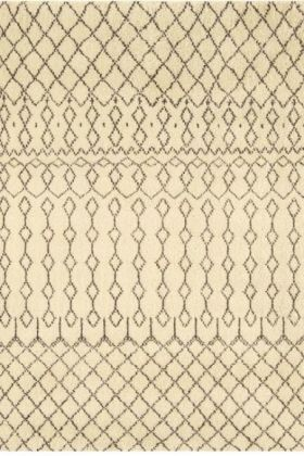 Amira 003 Moroccan Inspired 100% Wool Rug - 240cm x 340cm