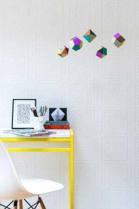 Anaglypta Turner Tile Wallpaper - ROLL