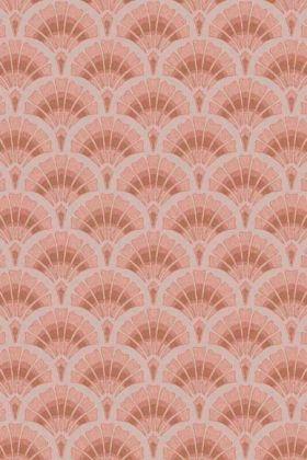 Betsy Fan Ditsy Wallpaper by Pearl Lowe - Pink WM-324-01 - ROLL