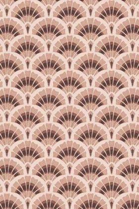 Betsy Fan Ditsy Wallpaper by Pearl Lowe - Tobacco WM-324-02 - ROLL