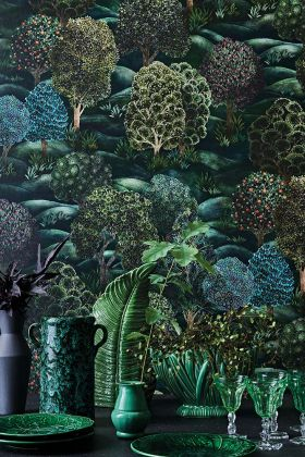 Cole & Son Botanical Botanica - Forest Wallpaper 115/9028 - ROLL