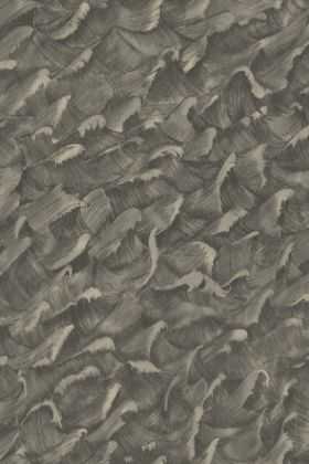 detail image of Cole & Son Whimsical Collection - Columbus Wallpaper - Stormy Bronze on Gilver 103/13056 - ROLL