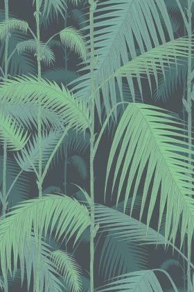Cole & Son Contemporary Restyled - Palm Jungle Wallpaper - Emerald Green 95/1003 - ROLL