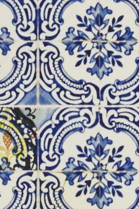 Designers Guild Carnets Andalous Collection - Patio Wallpaper - Cobalt PCL015/01 - ROLL