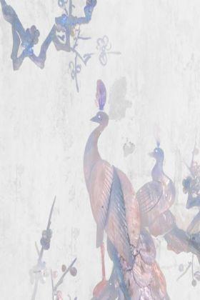 detail image of Elli Popp Fabry Perot Wallpaper - Blue PM148-03 - ROLL