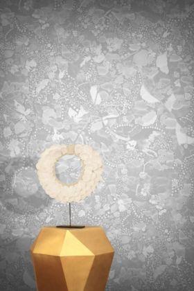 Feathr La Cueillette Wallpaper - Grise - ROLL