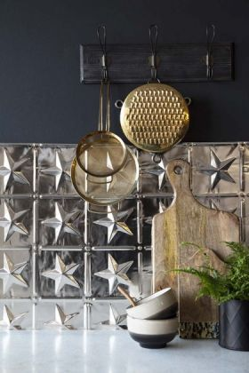 Five Point Star Tin Tile