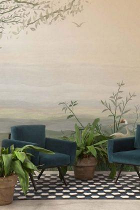 Landscape Wallpaper Mural - Yugure Aloe 7900111 - MURAL