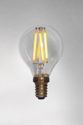 detail image of E14 3W LED Low Light Pluto Bulb on white surface background