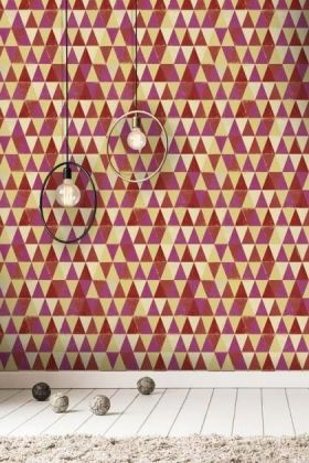 Mind The Gap Circus Pattern Wallpaper - WP20006 - ROLL